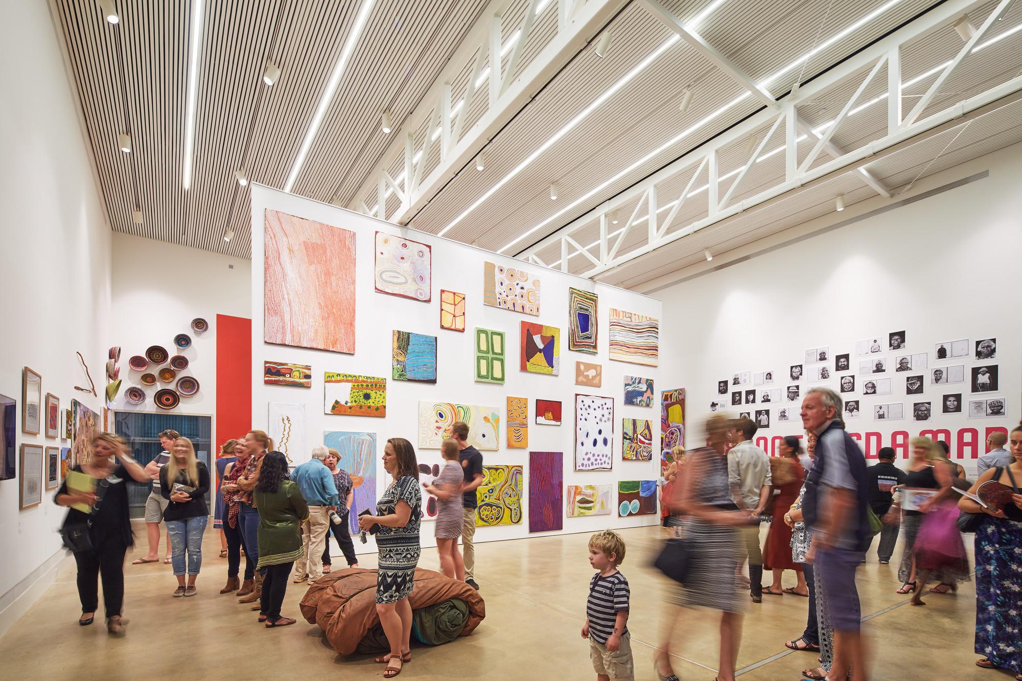 East Pilbara Arts Centre interior