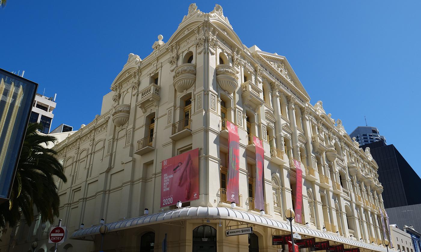 His Majesty's Theatre exterior