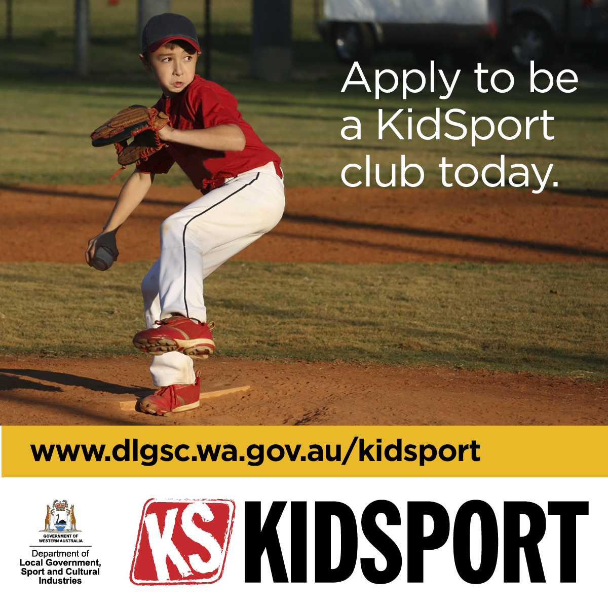 KidSport website image Apply to be a KidSport club today