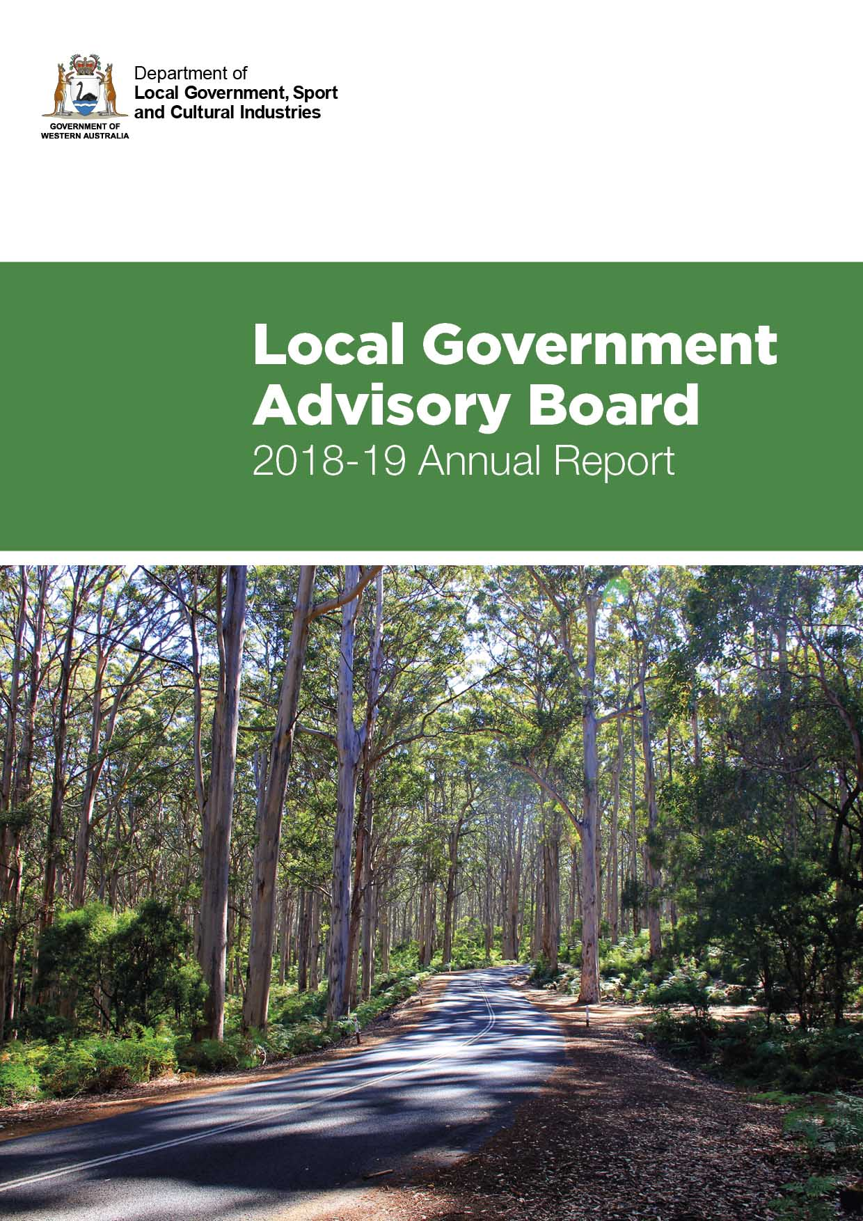 Local Government Advisory Board Annual Report 2018-19