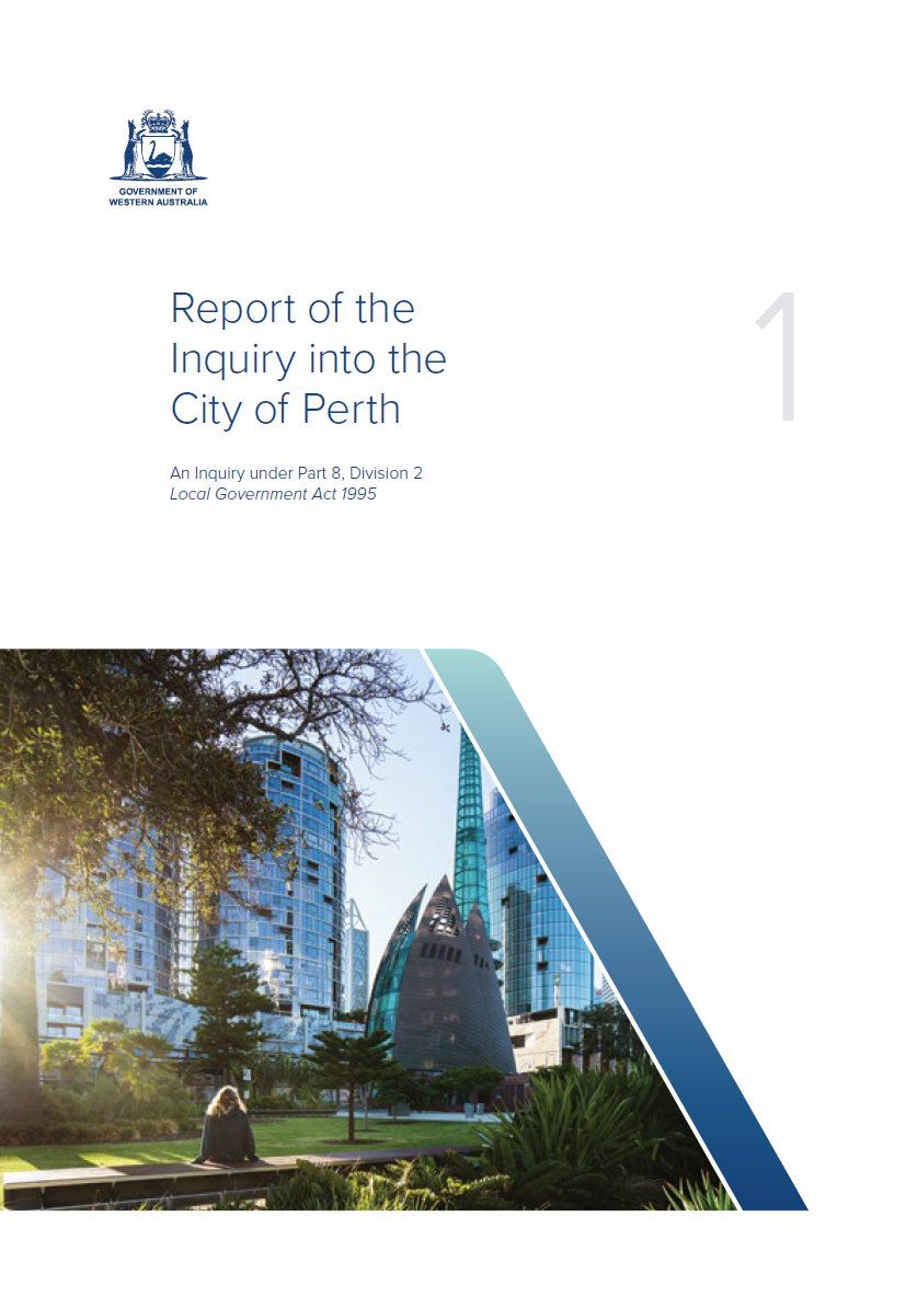 Report of the Inquiry into the City of Perth