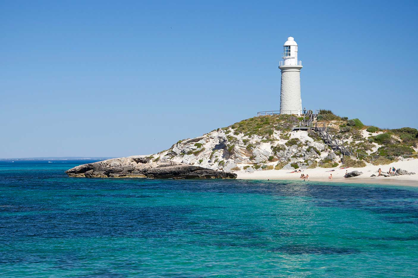 The lighthouse on Rottnest Island, Western Australia