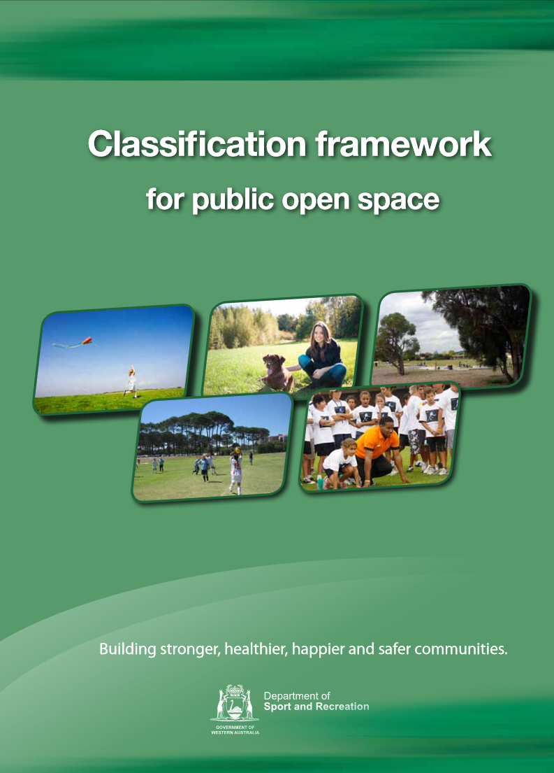 Classification Framework for Public Open Space cover