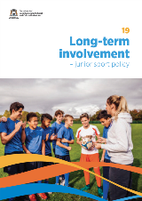 Long-term involvement Junior sport policy cover