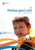 Making sport safe  Junior sport policy cover