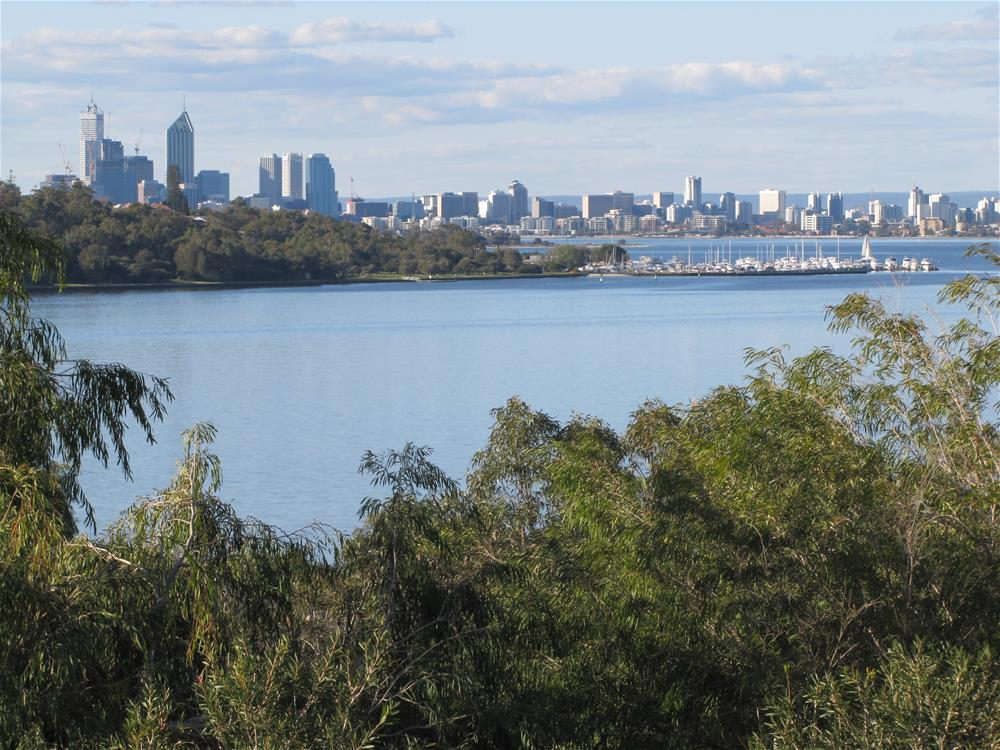 Point Walter view of the Swan River