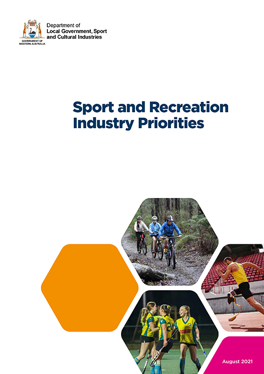 Sport and Recreation Industry Priorities cover