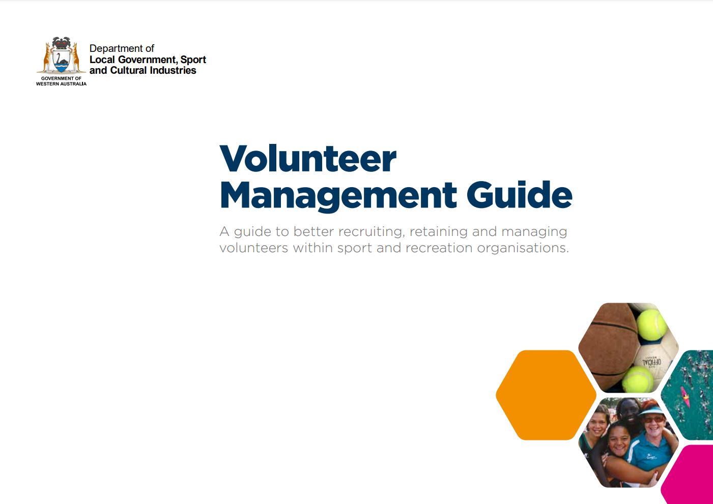 Volunteer Management Guide cover