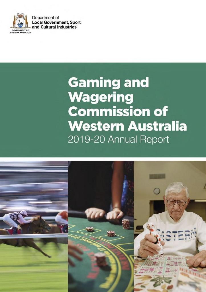 Gaming and Wagering Commission Annual Report 2019-2020.